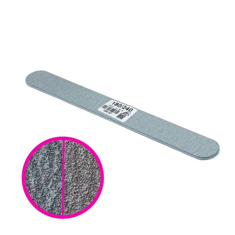 LEX Пилка серая узкая 180/240 грит, 25шт
