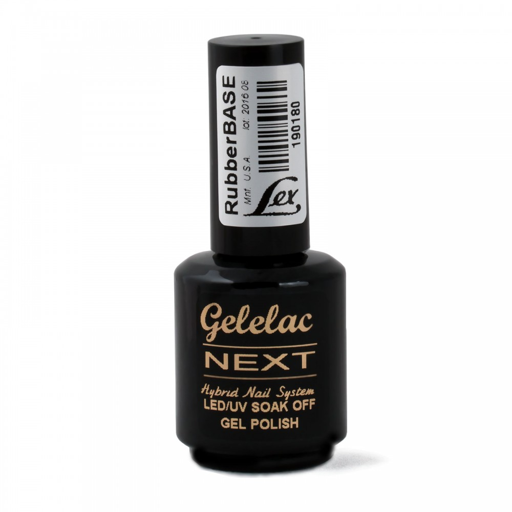 LEX Gelelac NEXT Rubber Base - база под гель-лак, 15ml