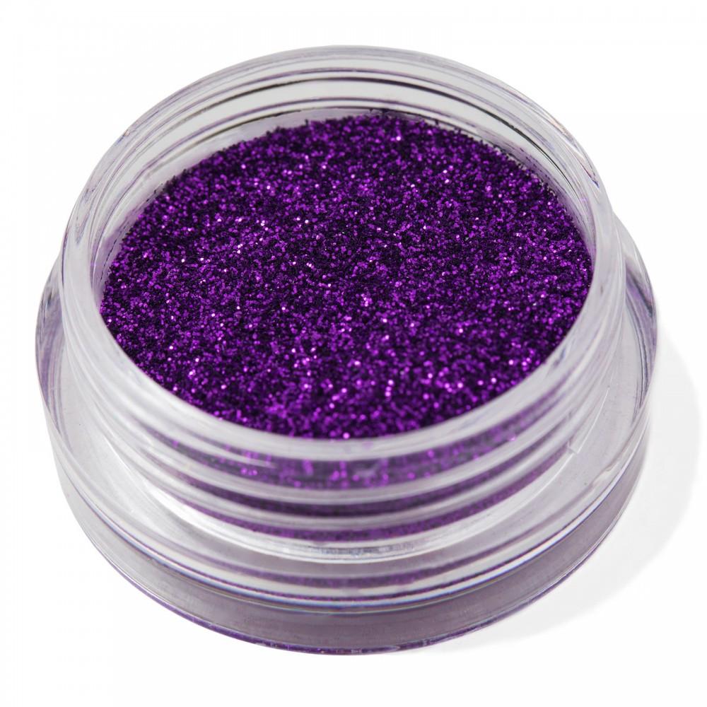 Блестки мелкие для nail дизайна фиолетовые