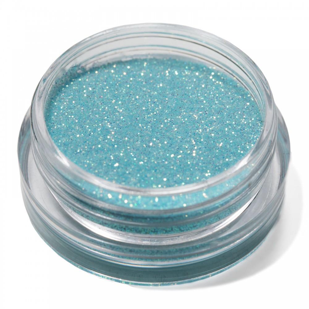 Блестки мелкие для nail дизайна светло голубые