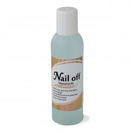 LEX Nail Off Vanilla - Жидкость для снятия искусственных ногтей, 200мл