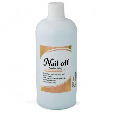 LEX Nail Off Vanilla - Жидкость для снятия искусственных ногтей, 500мл