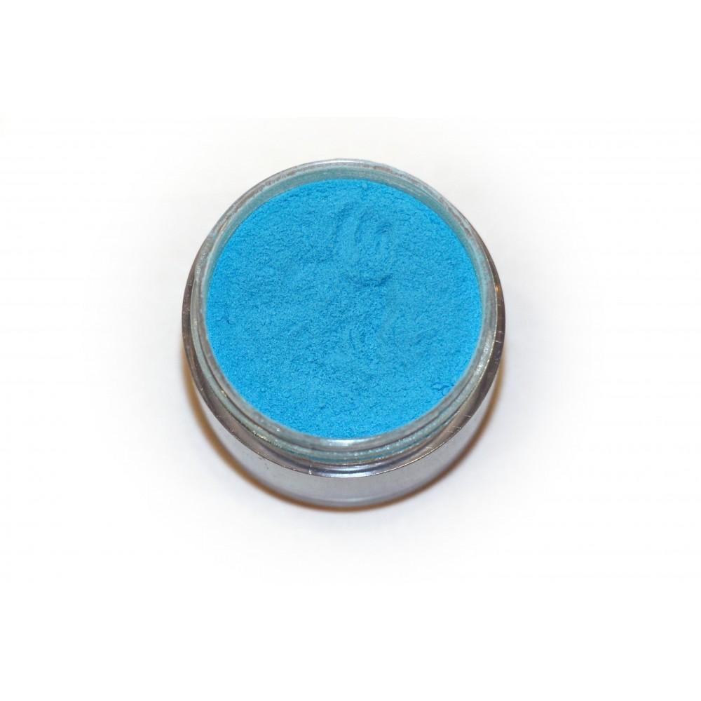 Цветная пудра для лепки LEX Neon Blue - 7г