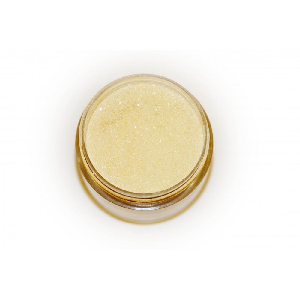 Цветная пудра для лепки LEX Shine Gold  - мерцающая с глиттером, 7г
