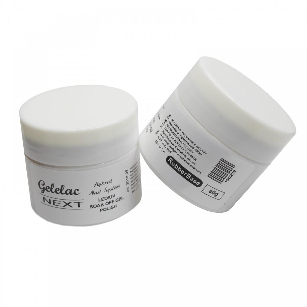LEX Gelelac NEXT Rubber Base - база под гель-лак, 60ml