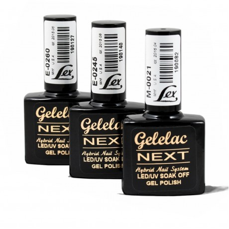 LEX Gelelac NEXT E-0135- гель-лак двойной пигментации, 10,5ml