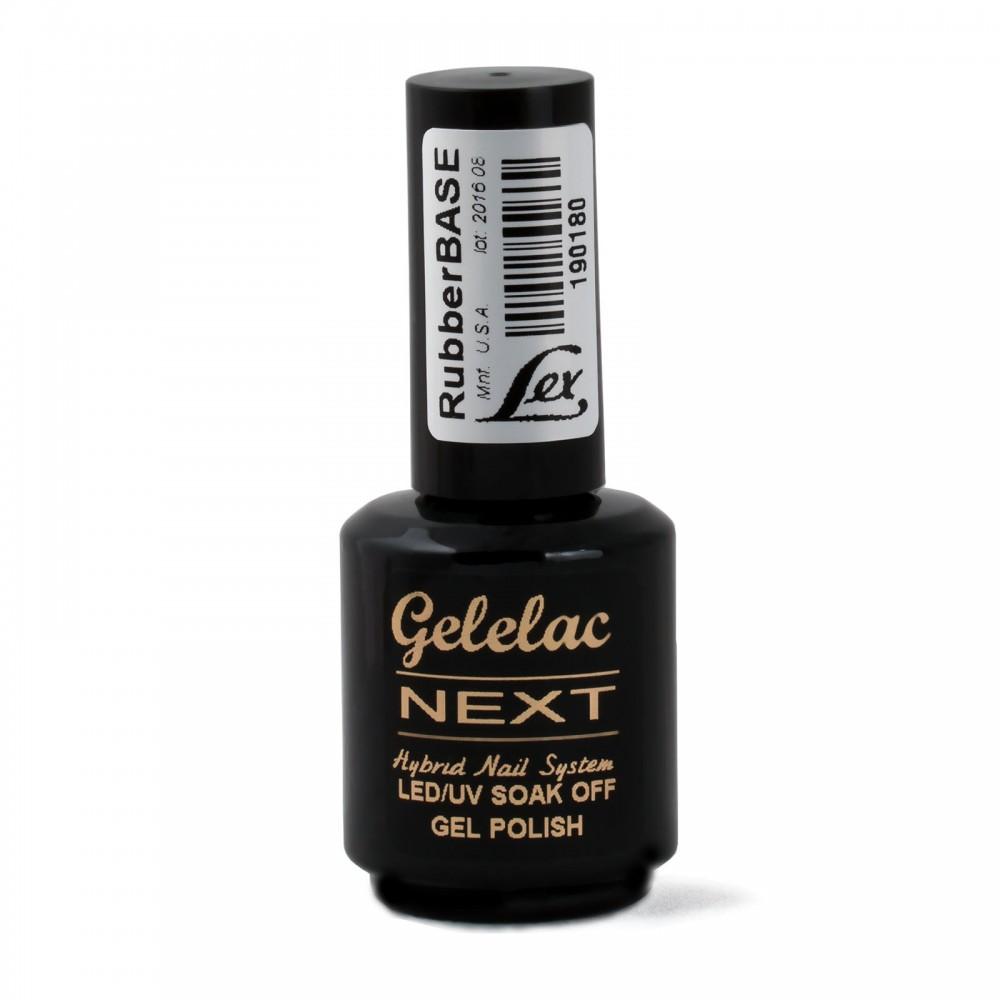LEX Gelelac NEXT Rubber Base - база под гель-лак, 15ml
