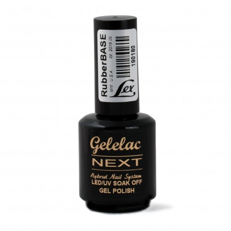 LEX Gelelac NEXT Rubber Base - база под гель-лак, 15ml - 6шт