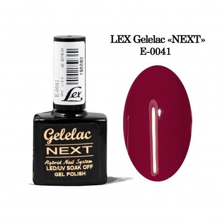 LEX Gelelac NEXT E-0041- гель-лак двойной пигментации, 10,5ml