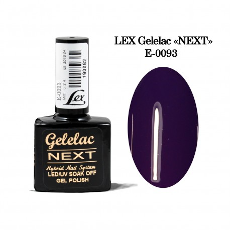 LEX Gelelac NEXT E-0093- гель-лак двойной пигментации, 10,5ml