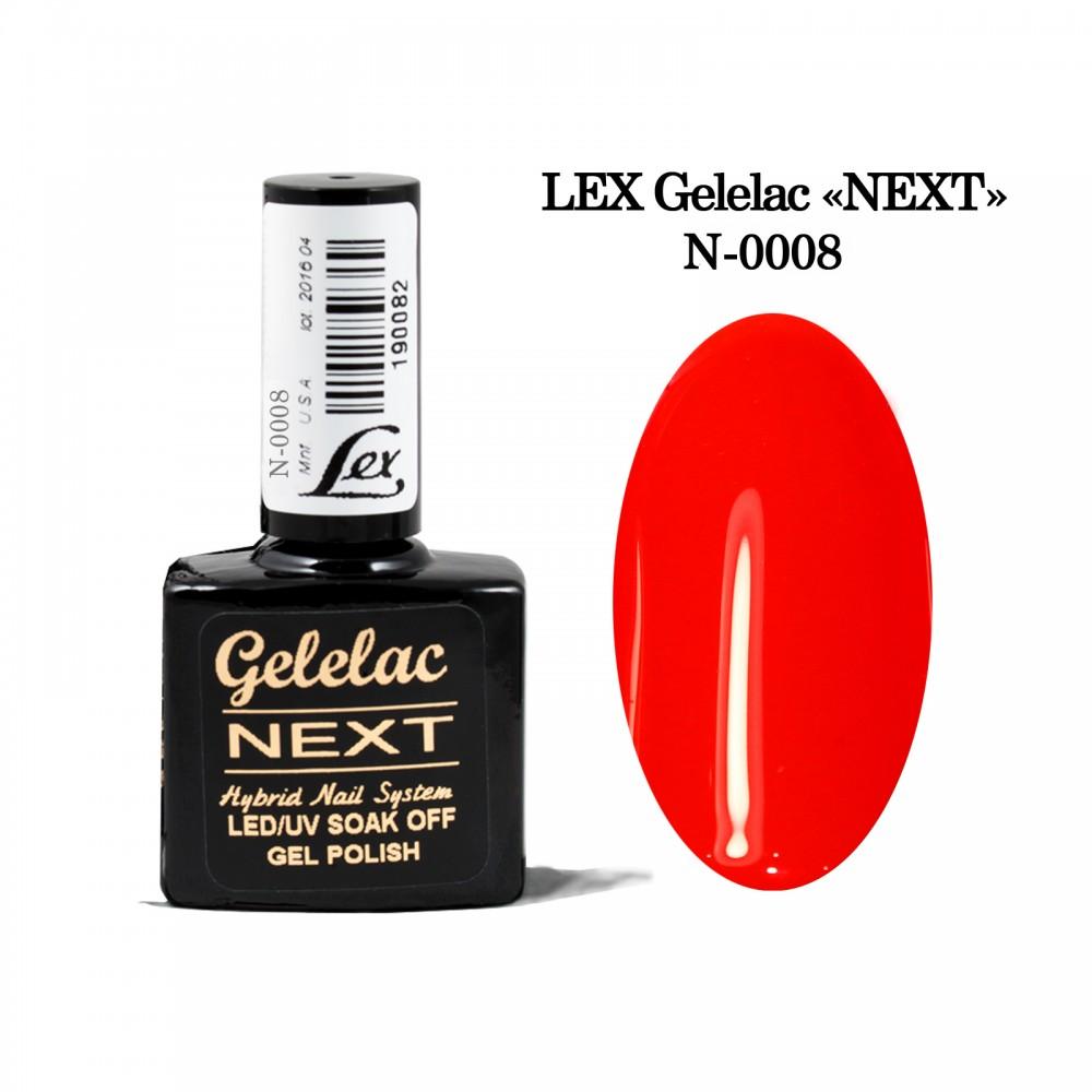 LEX Gelelac NEXT N-0008- гель-лак двойной пигментации, 10,5ml