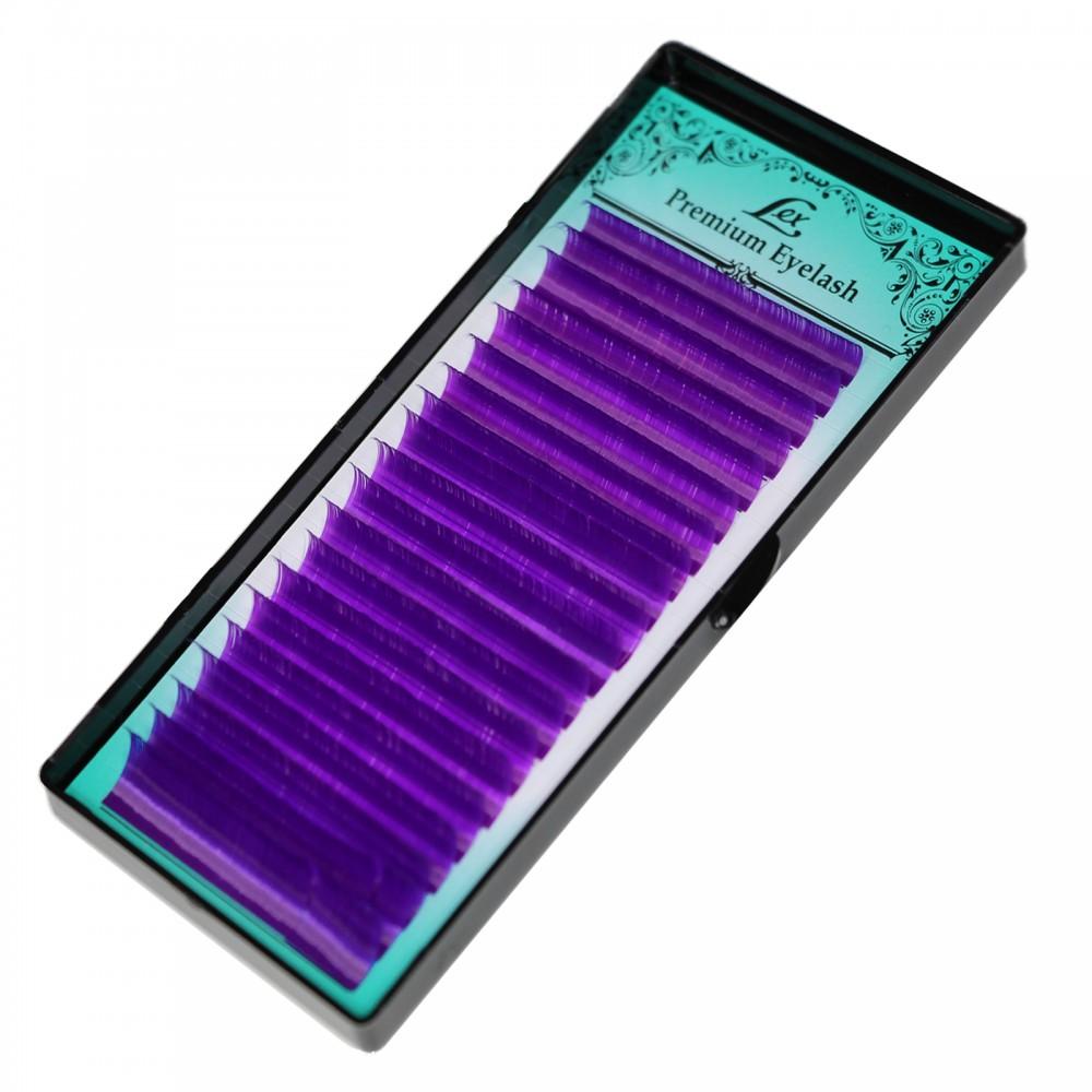 Ресницы LEX VIOLET MIX 20 lines 0.07 CC 7-8-9-10-11-12 mm