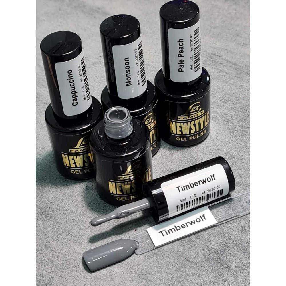 LEX NEW STYLE Timberwolf- гель лак сверхплотной пигментации, 8ml