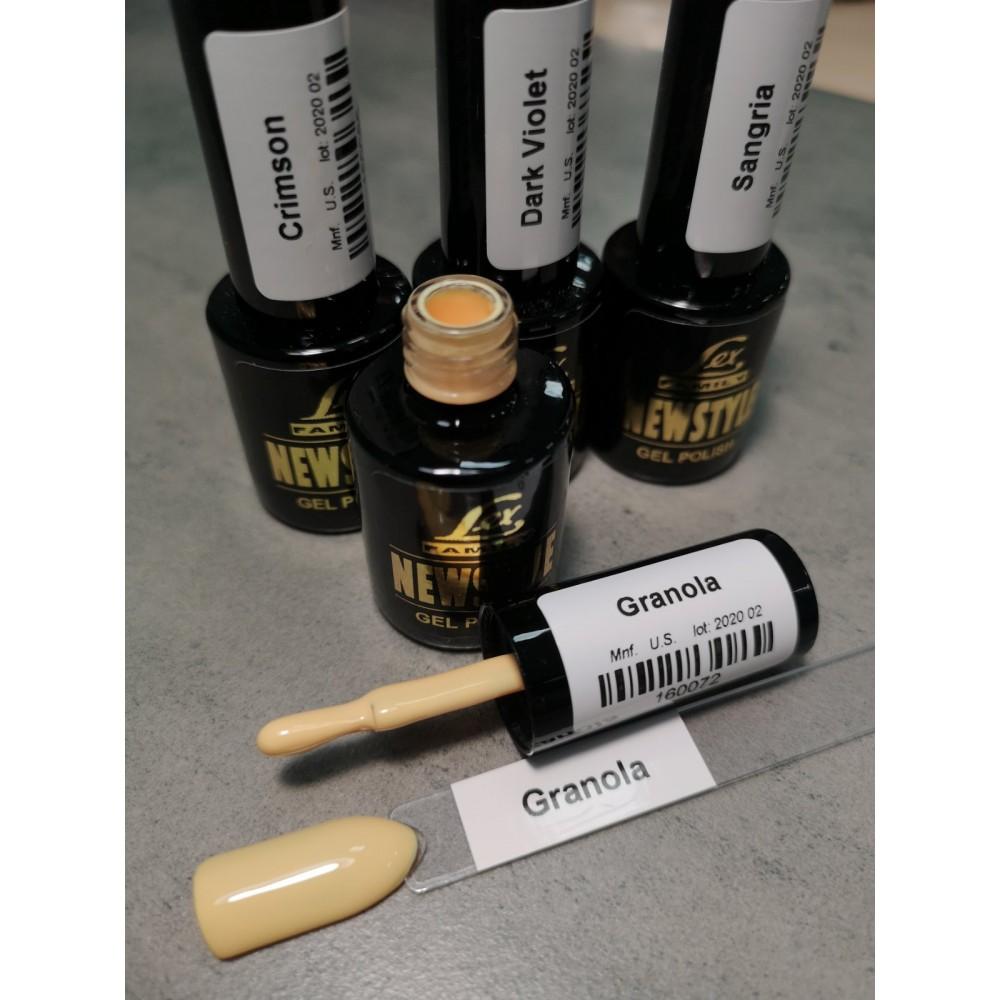 LEX NEW STYLE Granola- гель лак сверхплотной пигментации, 8ml
