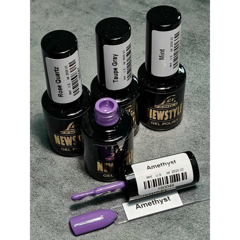 LEX NEW STYLE Amethyst- гель лак сверхплотной пигментации, 8ml