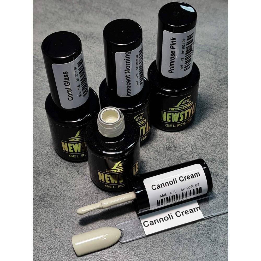 LEX NEW STYLE Cannoli Cream- гель лак сверхплотной пигментации, 8ml