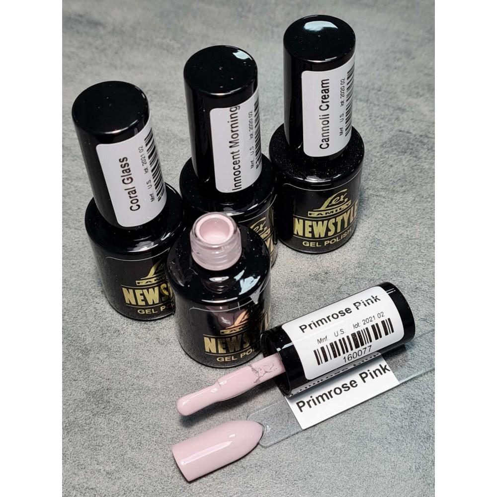 LEX NEW STYLE Primrose Pink- гель лак сверхплотной пигментации, 8ml