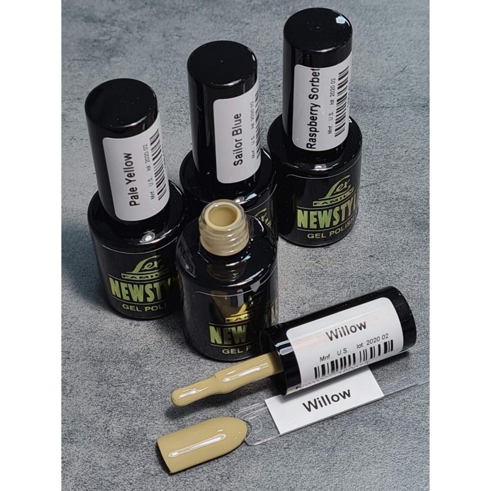 LEX NEW STYLE Willow- гель лак сверхплотной пигментации, 8ml