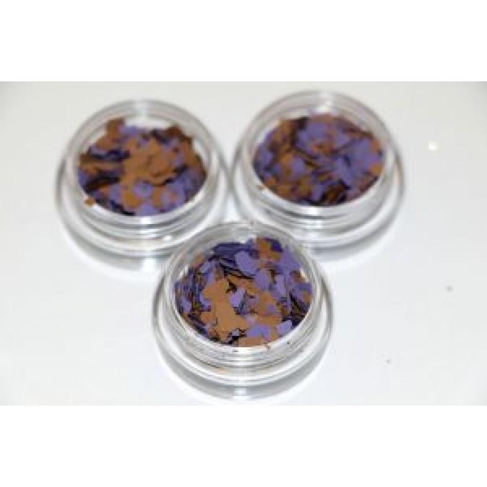 Моро для nail дизайна фиолетовые