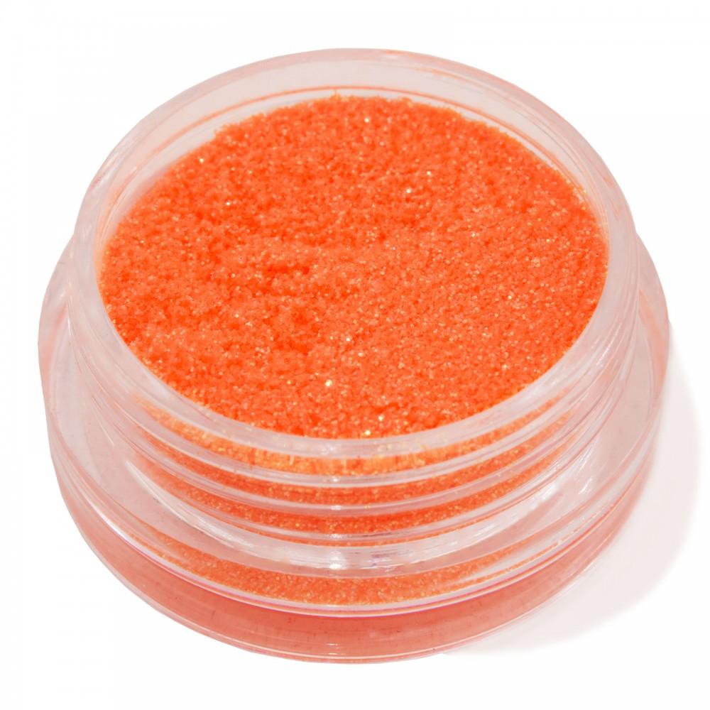 Блестки мелкие для nail дизайна оранжевые