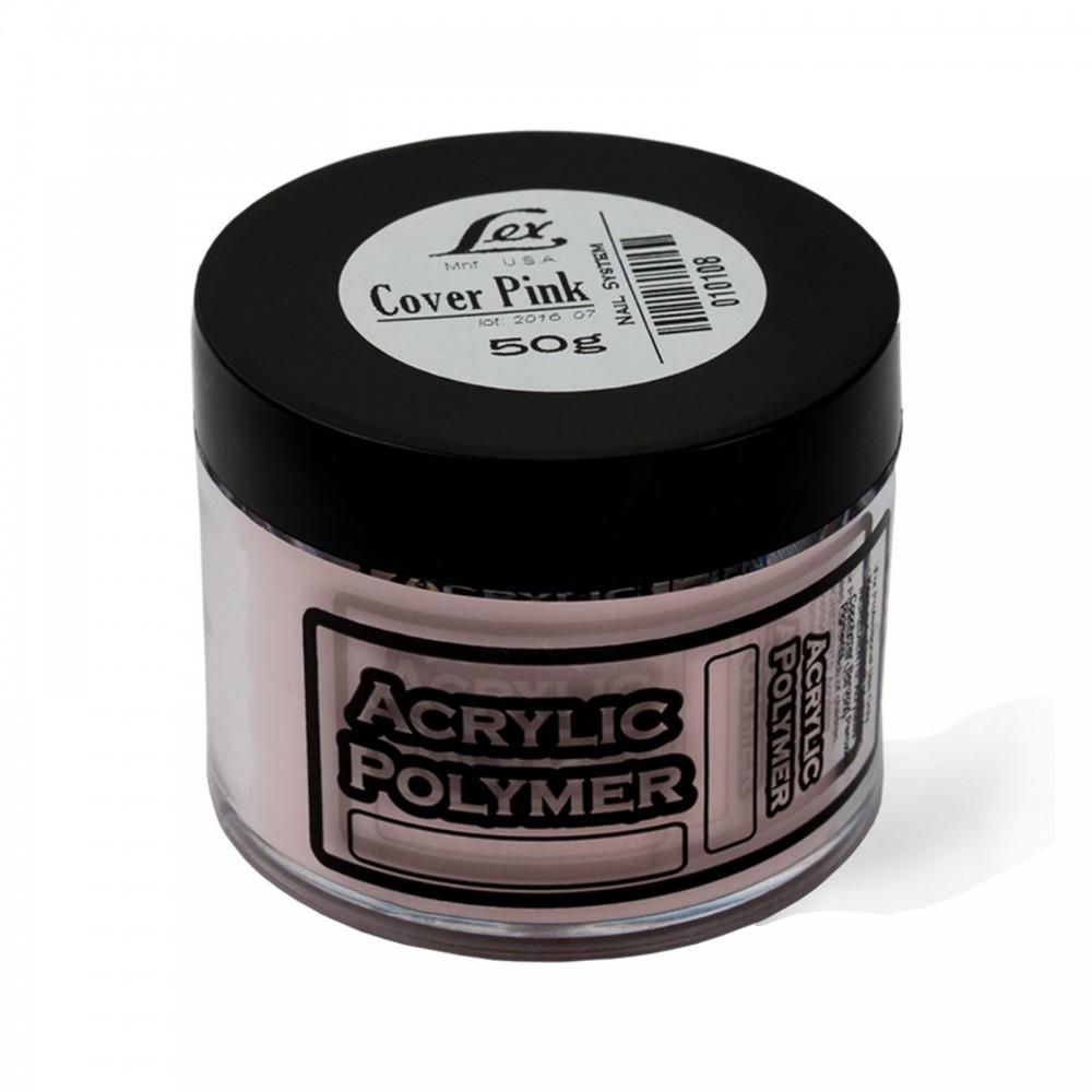 LEX Акриловая пудра cover pink 50гр