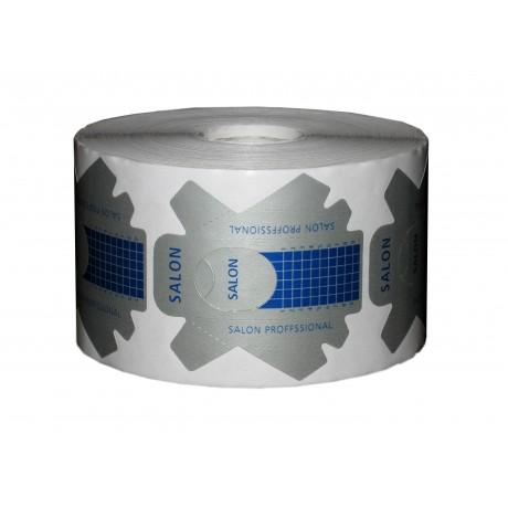 Формы для наращивания ногтей серо-синие с перфорацией 500 шт