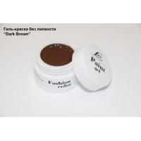 LEX Paint Gel Dark Brown - гель-краска без остаточной липкости, 7g