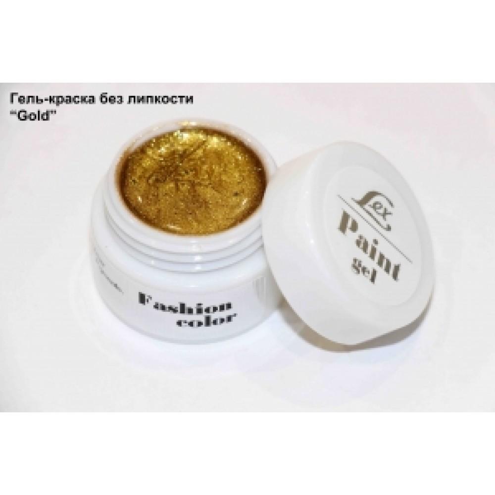 LEX Paint Gel Gold - гель-краска без остаточной липкости, 7g