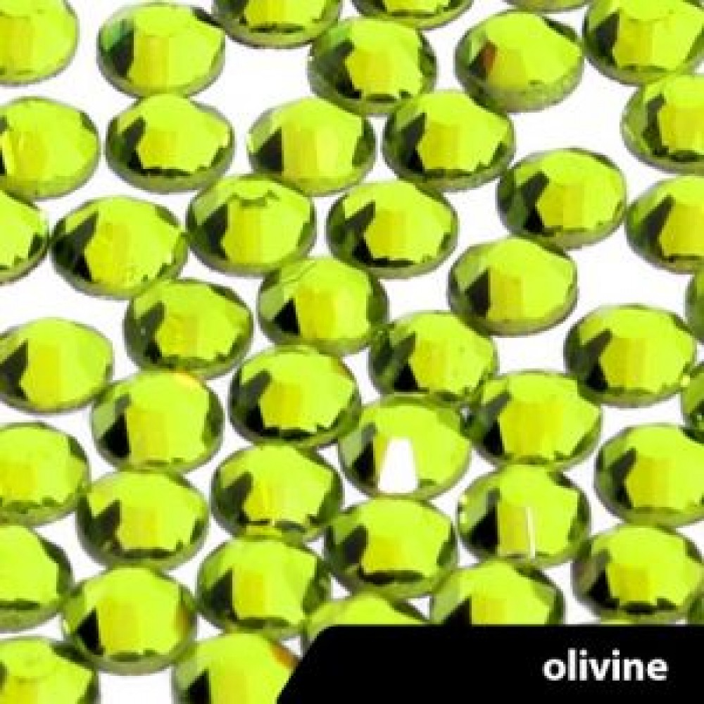 Стразы OLIVE SS3-100шт