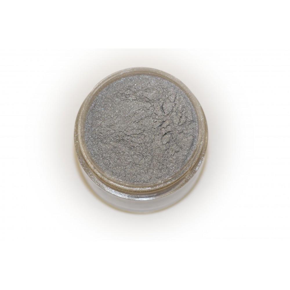 Цветная пудра для лепки LEX Perl Silver - с эффектом перламутра, 7г