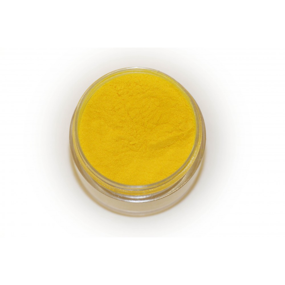 Цветная пудра для лепки LEX Rich Yellow - 7г