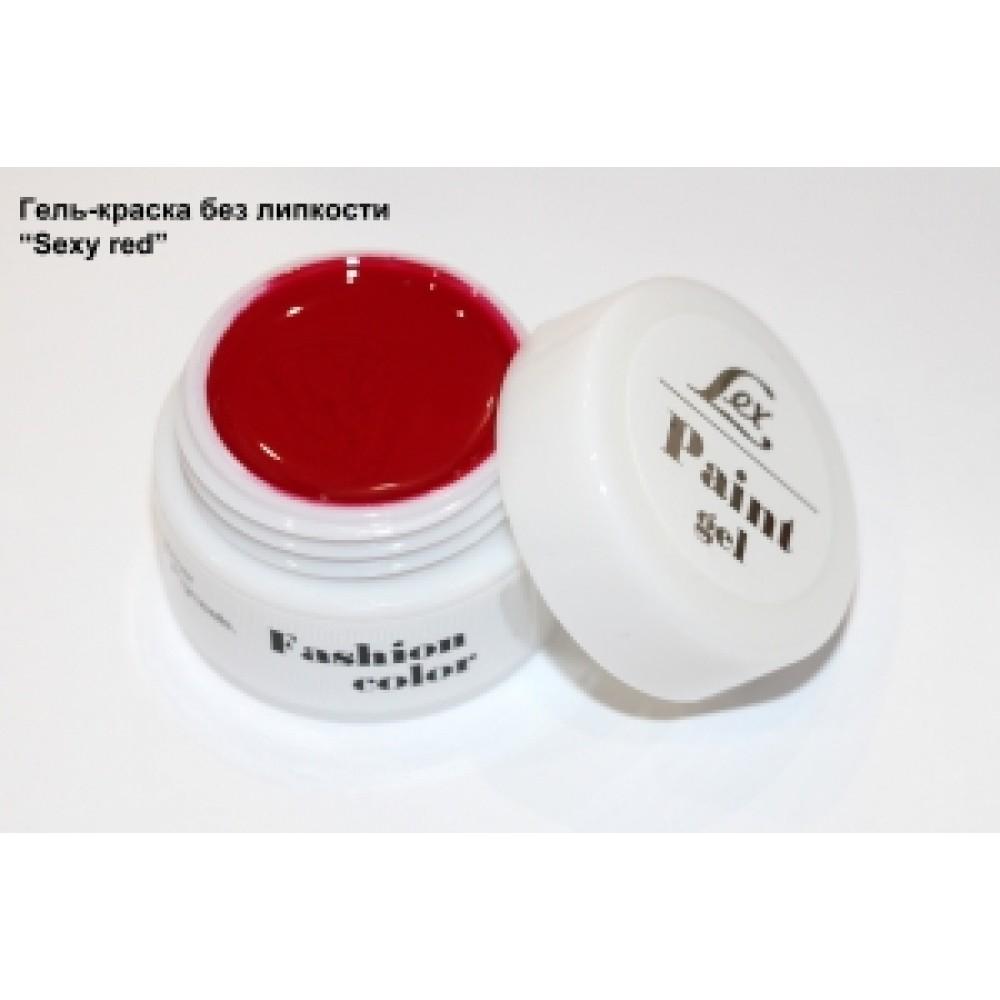 LEX Paint Gel Sexy Red - гель-краска без остаточной липкости, 7g