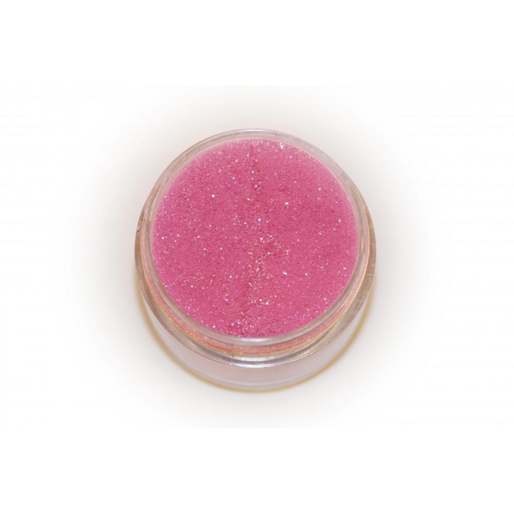 Цветная пудра для лепки LEX Shine Fuchsia  - мерцающая с глиттером, 7г