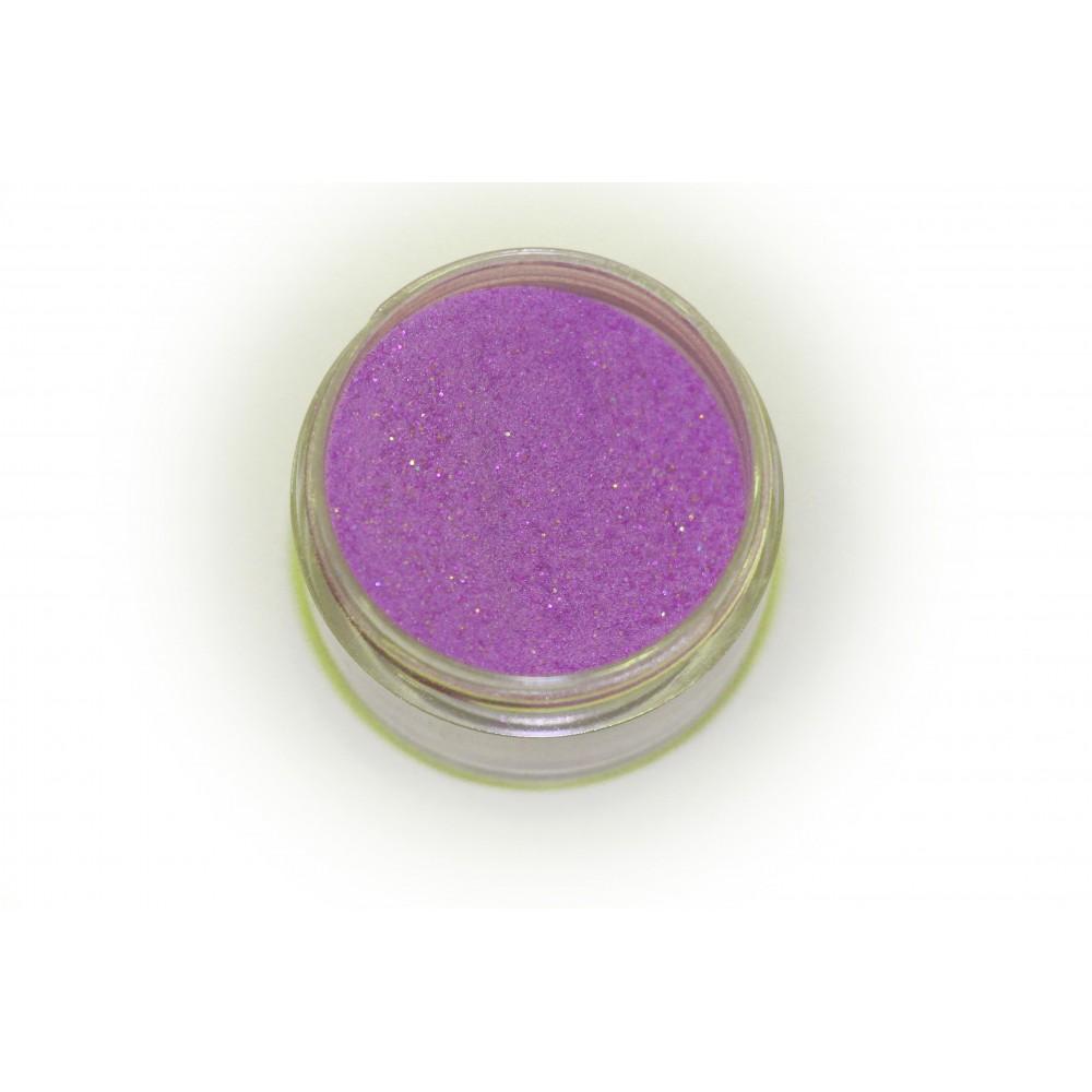 Цветная пудра для лепки LEX Shine Indigo  - мерцающая с глиттером, 7г